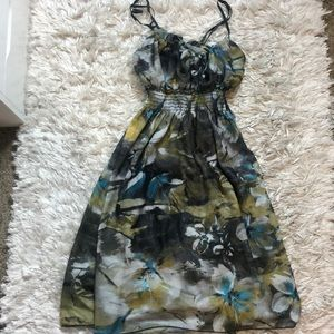 Cute Tropical Dress Size Small